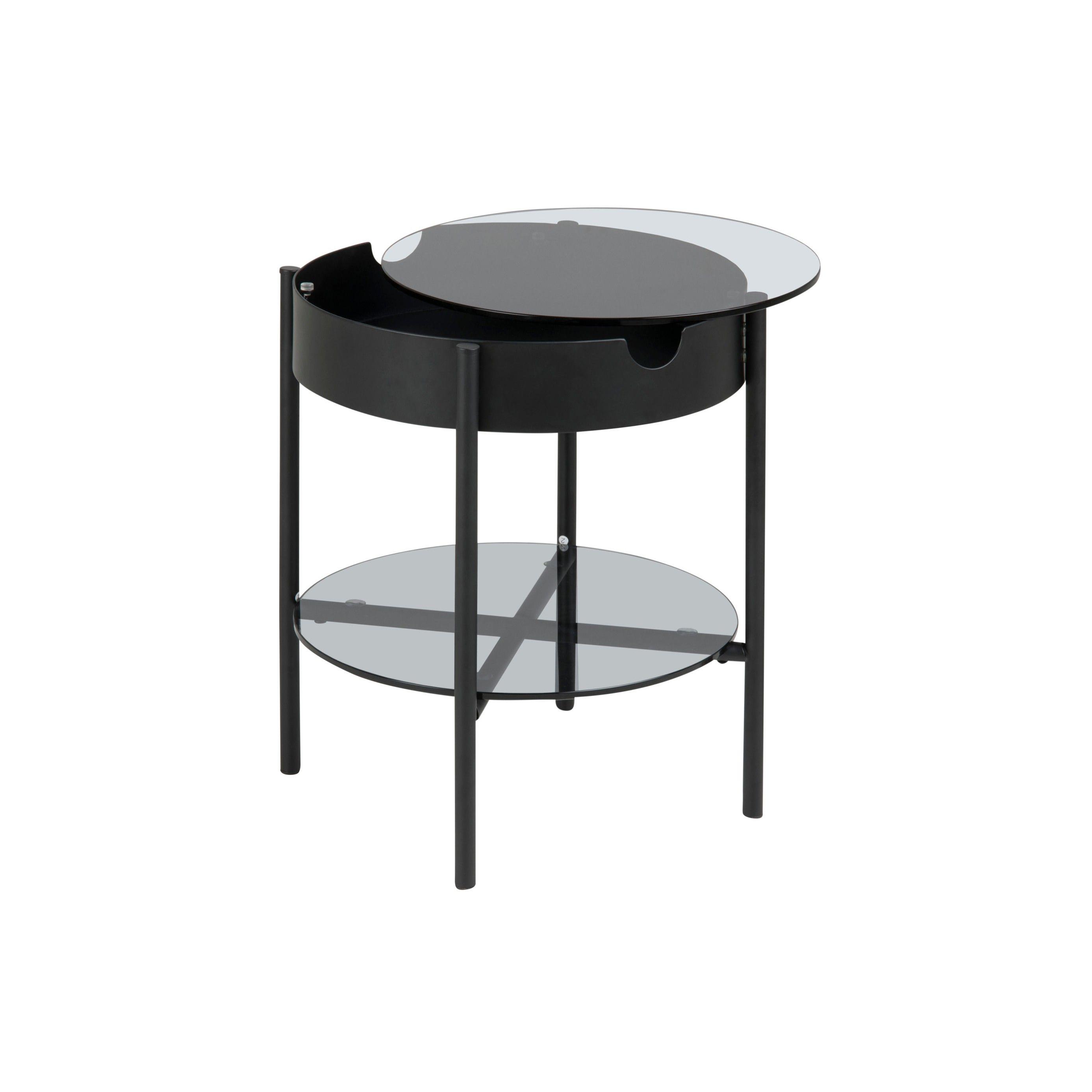 Tip Coffee Table High   Glass