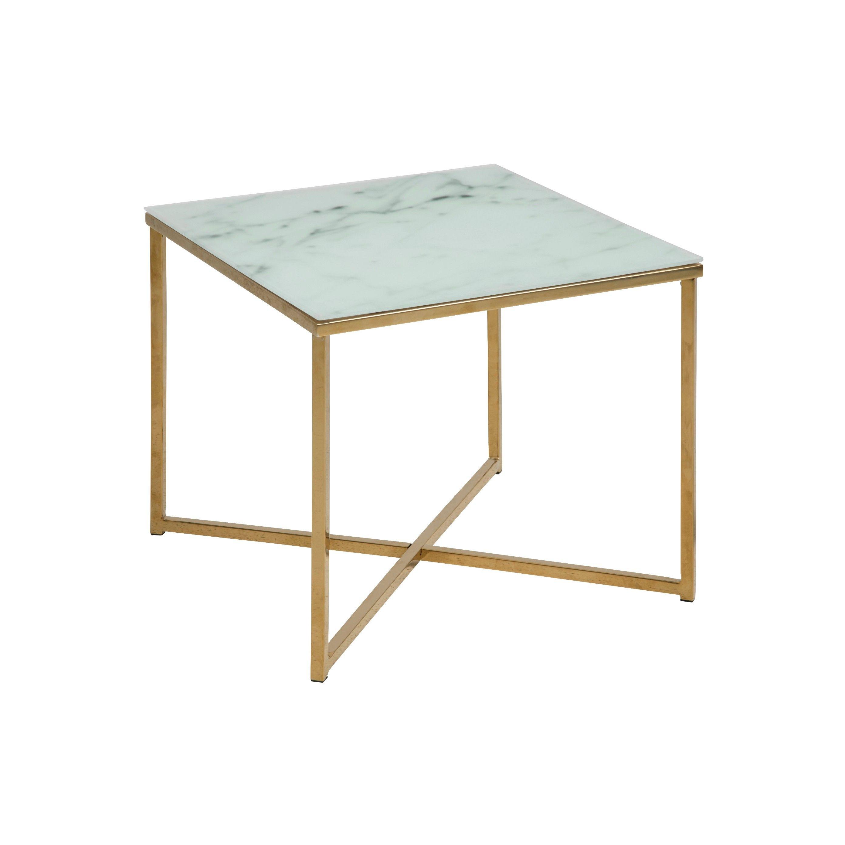 Ali Coffee Table 50 x 50 | White Marble