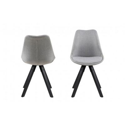 Stühle Nida | 2er-Satz | Grau
