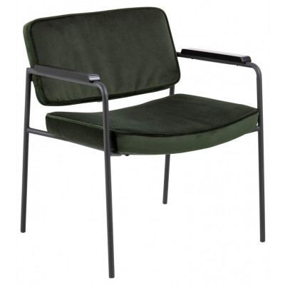 Sessel Molly | Dunkelgrün | Stoff