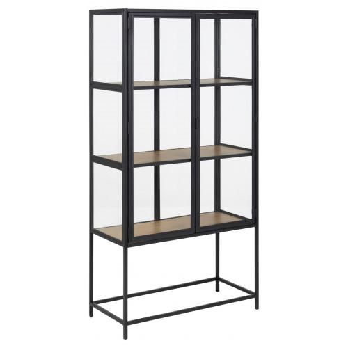 Glass Cabinet Seaford | H 150 cm