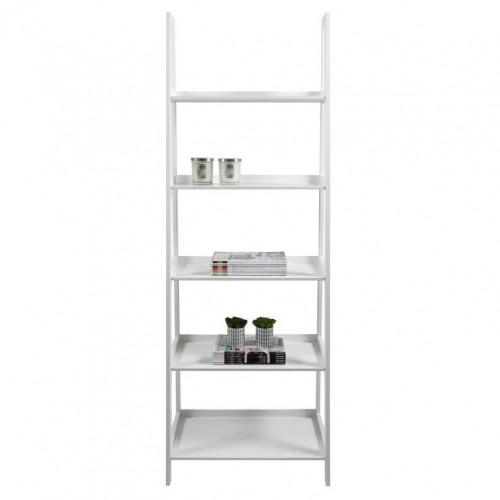 Wall Unit 5 Shelves Wolf | White