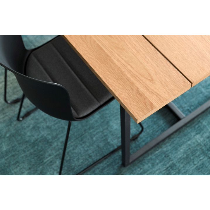 Set of 2 Chairs Tale | Black