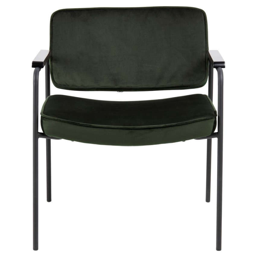 Armchair Molly | Dark Green | Fabric