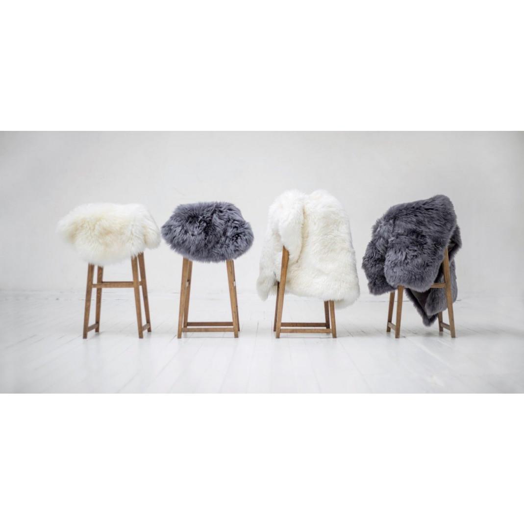 Neuseeländisches Schafsfell Pelz | Weiß