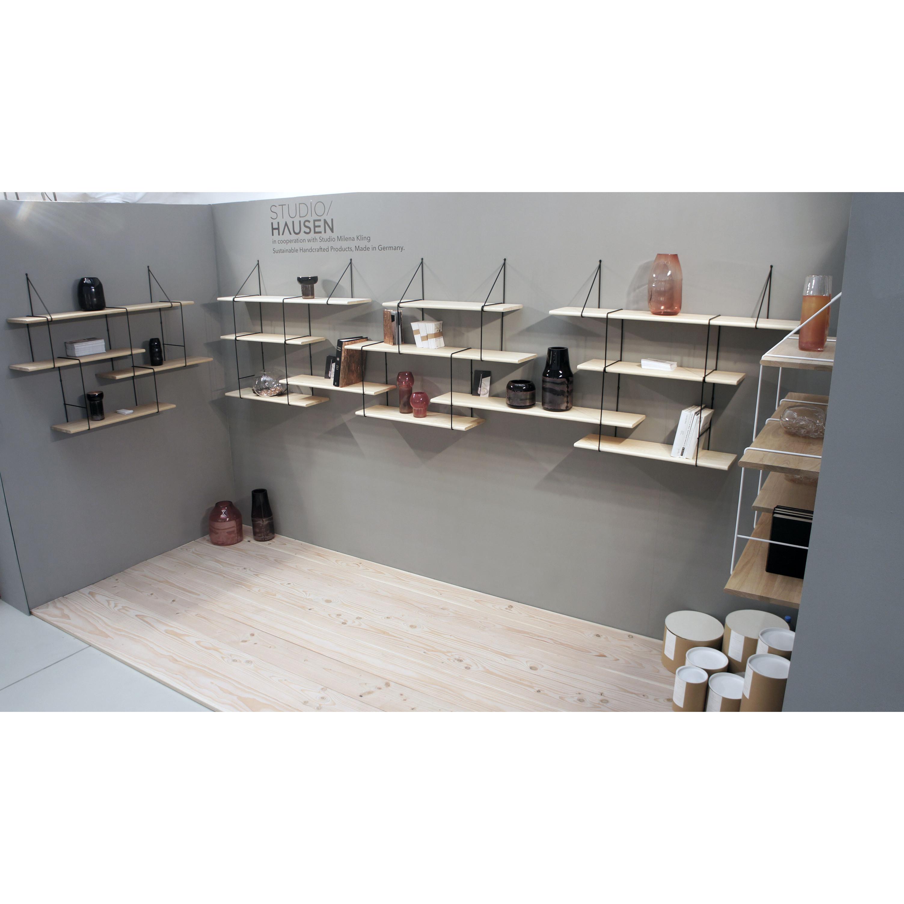 Shelving System LINK Set 1 | Oak Black