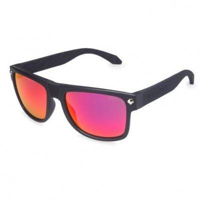 Ned Kelly Sunglasses | Black Frame & Red Lens