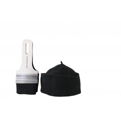 Hut in Pinselverpackung | Schwarz
