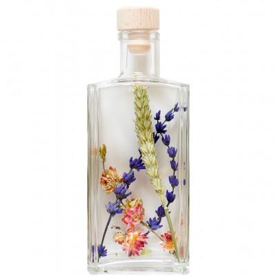 Getrocknete Blumen in Flasche XL   1 Stück