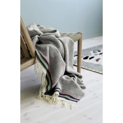 Akle Blanket | Light Grey-Beige