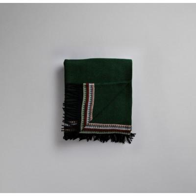 Akle Blanket | Dark Green