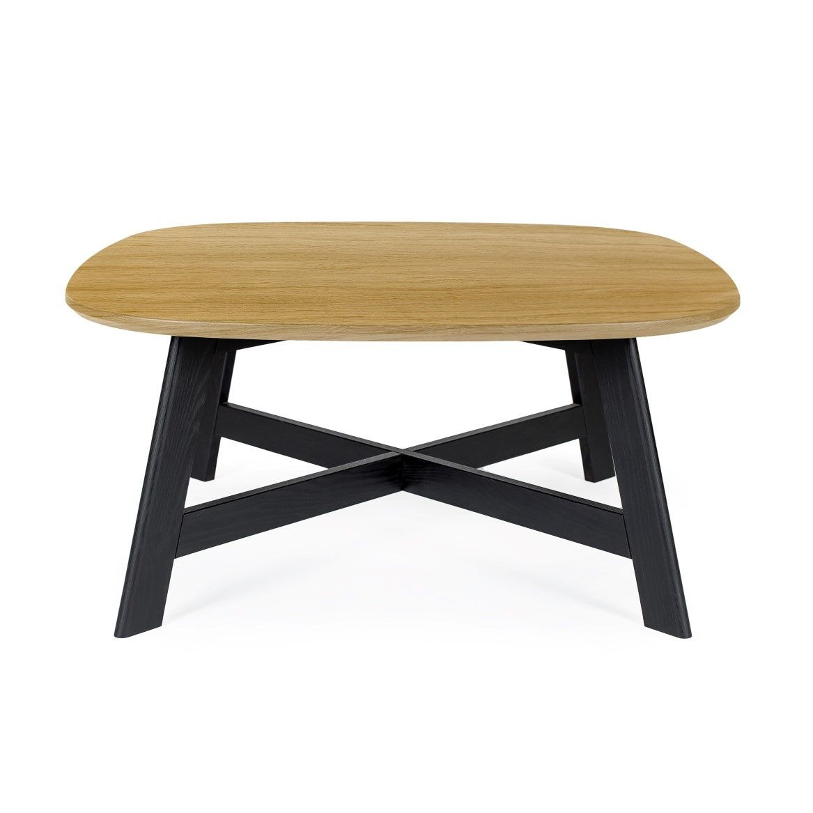 Keeni Coffee Table | Black & Oak
