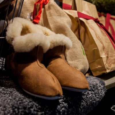 Slippers Mariette | Cognac