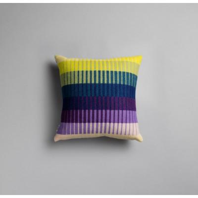 Asmund-Gradienten-Kissen   Violett-Gelb