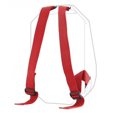Additional Strap   Bold Red