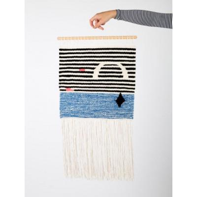 STRIPES Wall Hanger | Blue