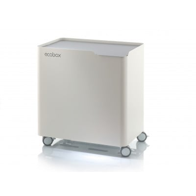 Recycling-Tonne Ecobox-Abfall | Grau