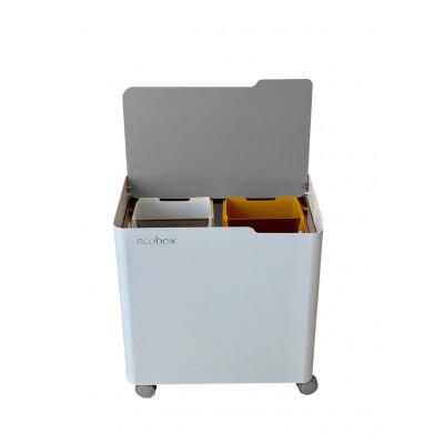 Recyclingbehälter Ecobox Top | Grau