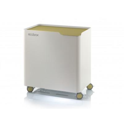 Recyclingbehälter Ecobox Top | Grüne Olive