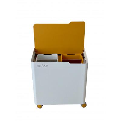 Recyclingbehälter Ecobox Top | Ocker