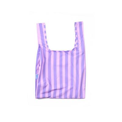Wiederverwendbare Tasche Purple Stripes   Lila