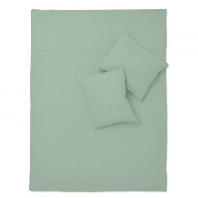 Bettwäsche-Set Basic Salbeigrün