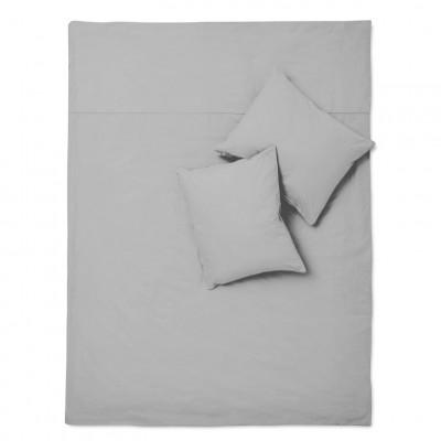 Bettwäsche-Set Basic Grau