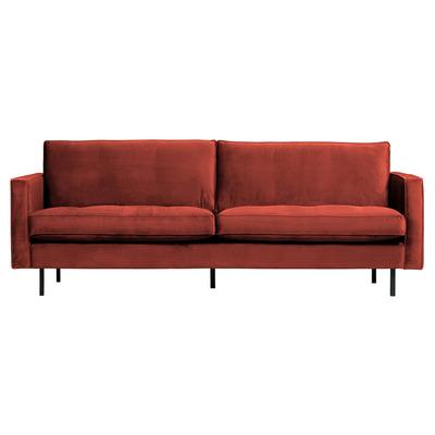 2,5 Seater Sofa Rodeo Classic Velvet | Chestnut