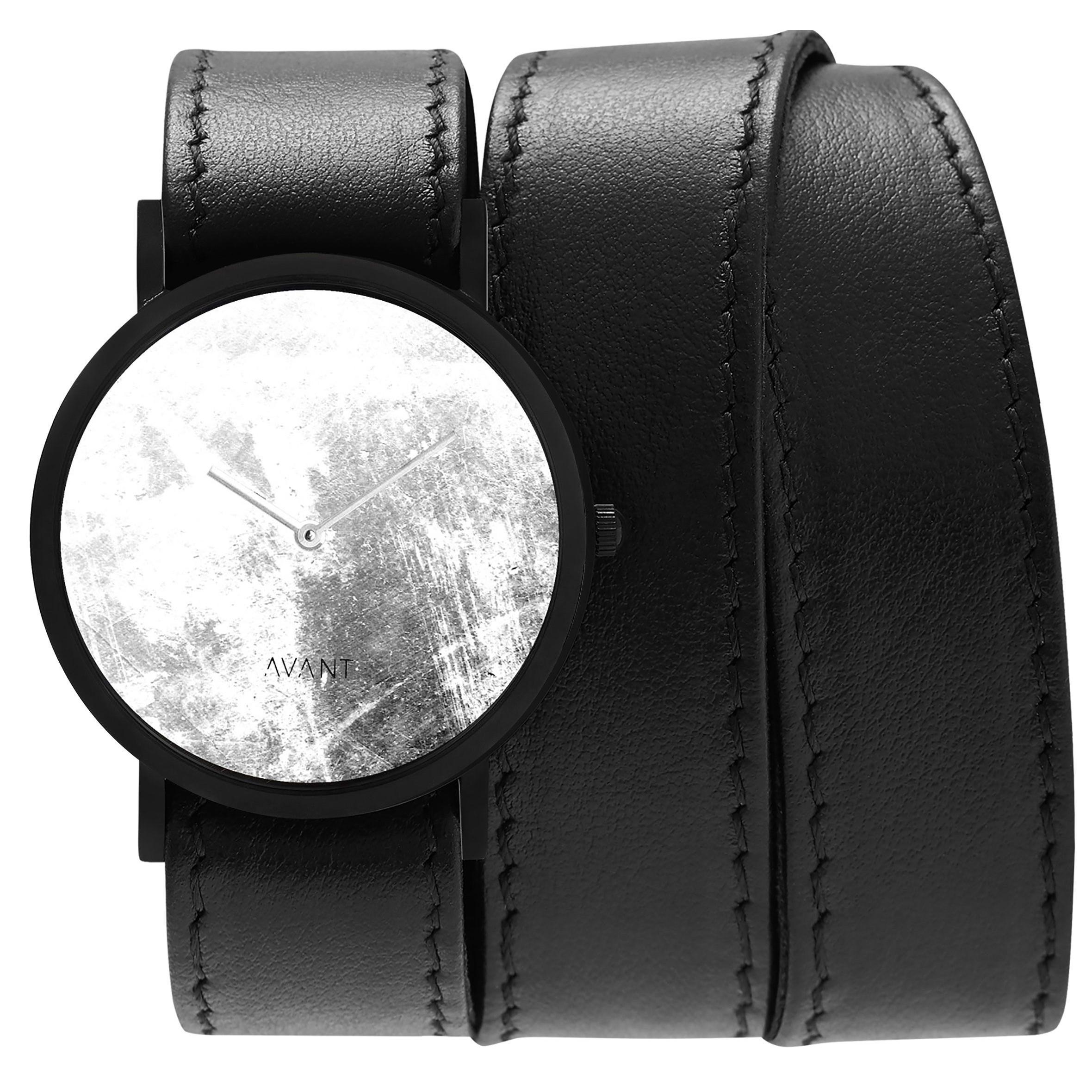 Avant Diffuse Triple Watch | Black & White