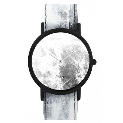 Avant Diffuse Watch   White & Black