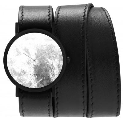 Avant Diffuse Triple Watch   Black & White