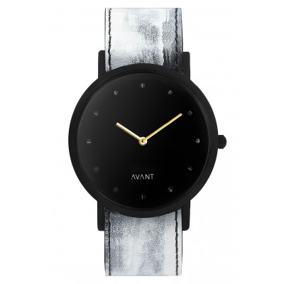 Avant Pure Watch   White & Gold
