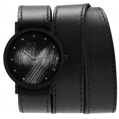 Avant Surface Triple Watch   Black