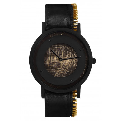 Avant Emerge Side Zip Watch   Black