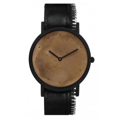 Avant Exposed Side Zip Watch   Black