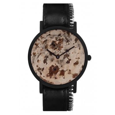 Avant Distinguished Side Zip Watch   Black