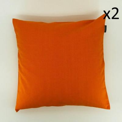 Kissen Sturm Orange | Satz/2