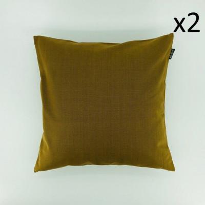 Kissen Sturm-Marzipan-Gelb | Satz/2