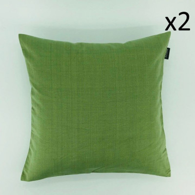 Kissen Sturmtee grün | Set/2