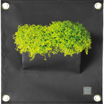 Pflanztasche 'Green Pockets' AMMA | Schwarz