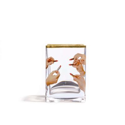 Vase Lipsticks 10x8x14 cm | Multicolour