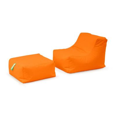 Bub Sitzsack + Ottomane   Orange