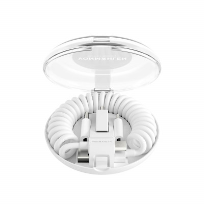 All-in-One-Ladekabel Allroundo | Weiß