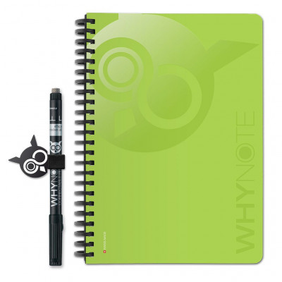 WhyNote Book A5 | Green