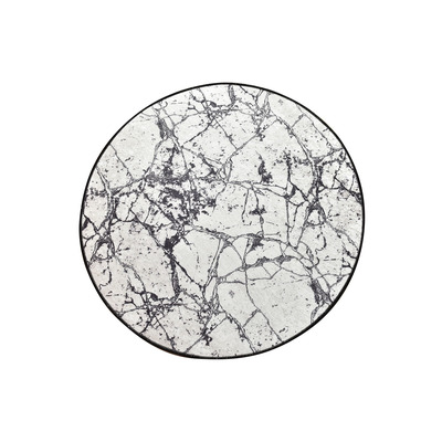 Badematte Marmor 100 cm I Mehrfarbig