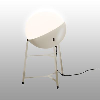 Table Lamp Half Small Tripod ø 25 cm | Cream