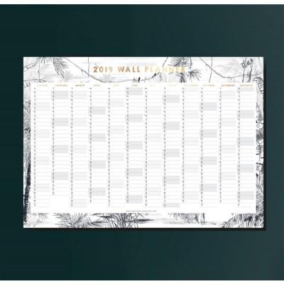 Wall Planner 2019 | Rainforest