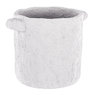 Topf Ercolano | Waschbecken Weißer Zement