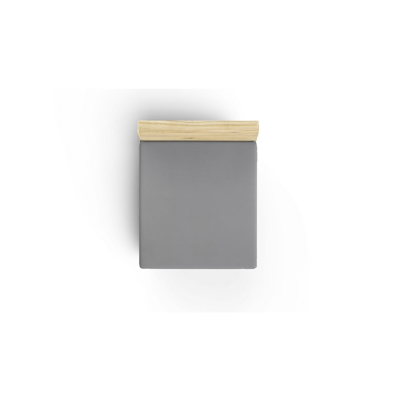 Doppel-Bettbezug-Set De Dark Grey I Dunkelgrau - 200x200cm
