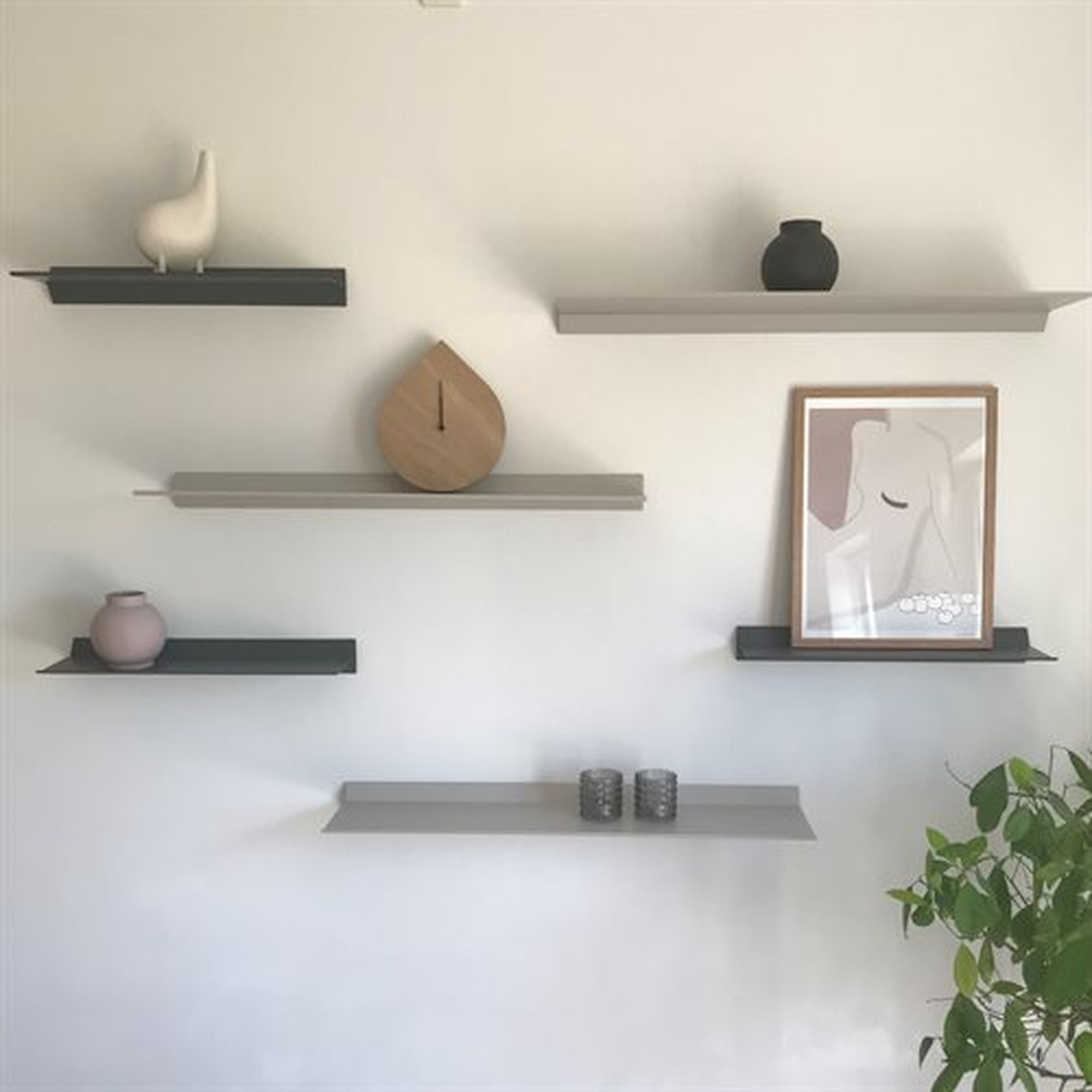 Shelf  Out of Shape | White-48 cm